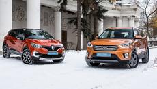 Hyundai Creta против Renault Kaptur: какой из кроссоверов выбрать?