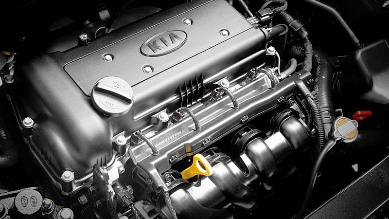 Фото двигателя киа рио